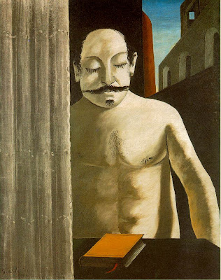 Georgio di Chirico (1914) La cerveau de l'enfant or The Child's Brain