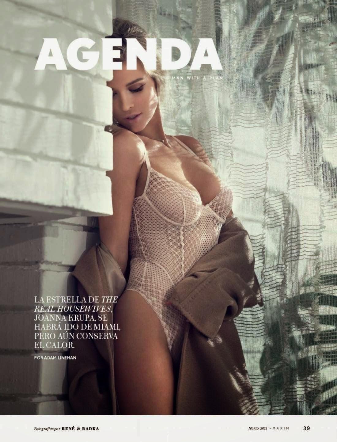 Actress, Model @ Joanna Krupa - Maxim Mexico, March 2015