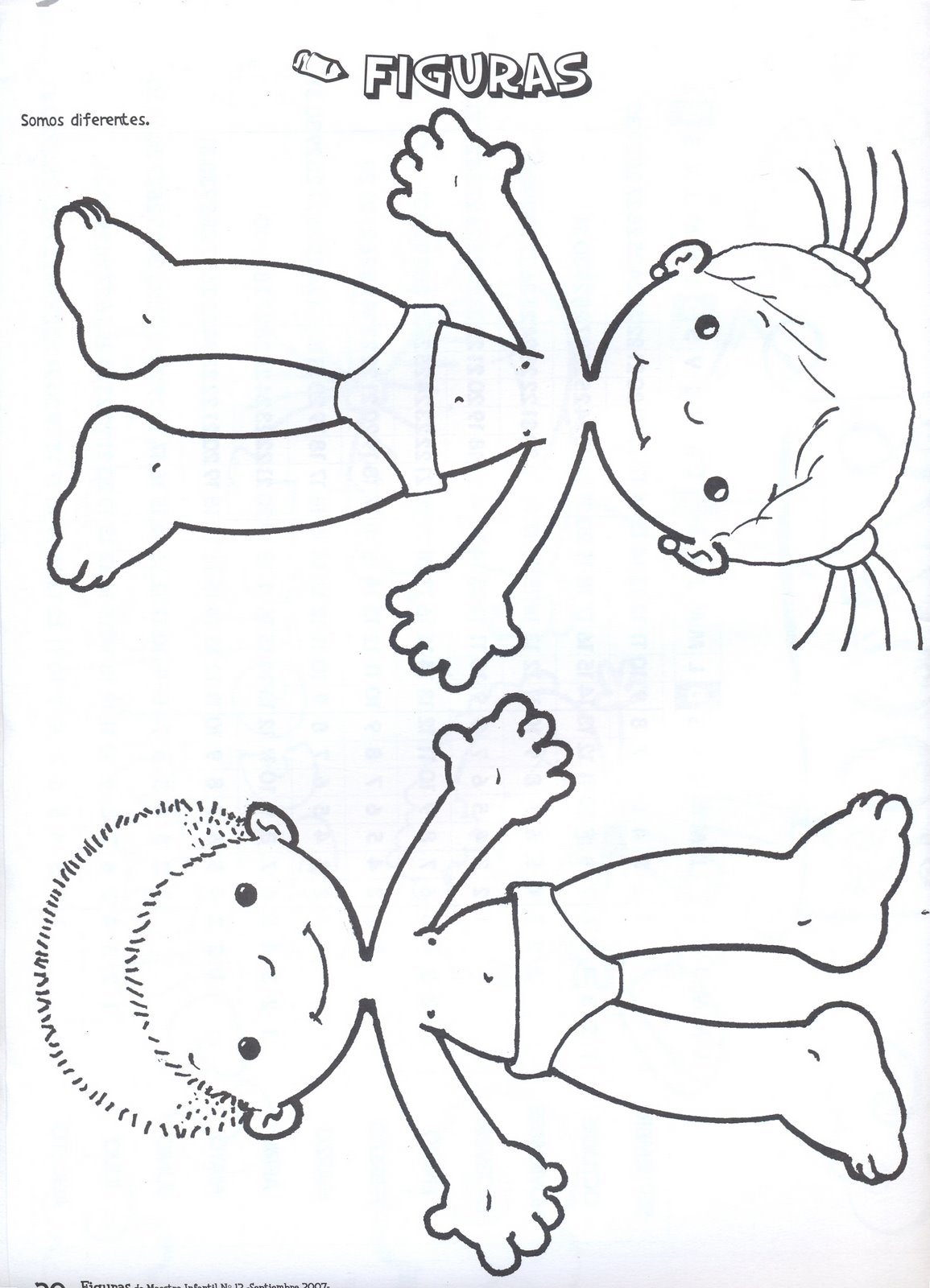 Cuerpo humano dibujo niño - Imagui