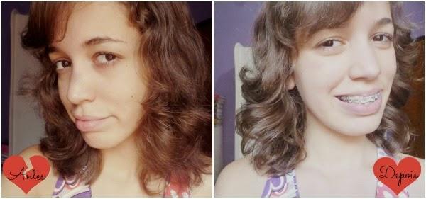 ativando ondas nos cabelos