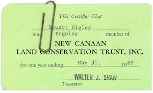 NCLCT Membership Card, 1969
