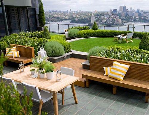 Rooftop Garden Landscaping Design