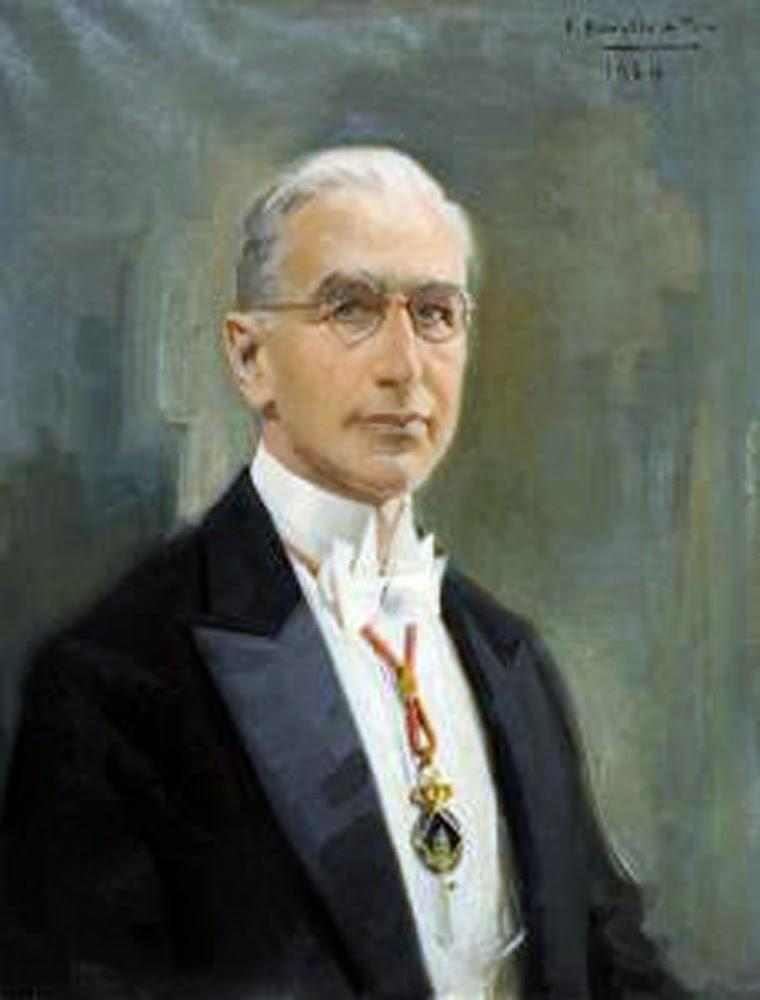 Félix Revello De Toro, Retrato Del Sr. Francesc Carreras Candi