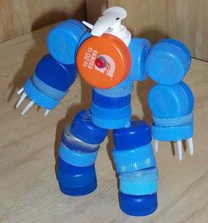 Крышки от пластиковых бутылок поделки своими руками