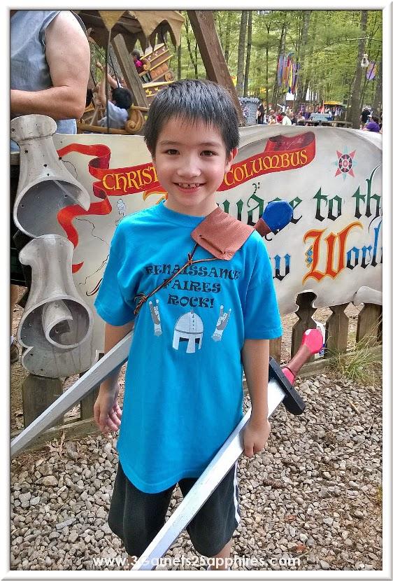 Renaissance Faires Rock Zazzle T-Shirt at King Richard's Faire 2014     www.3Garnets2Sapphires.com
