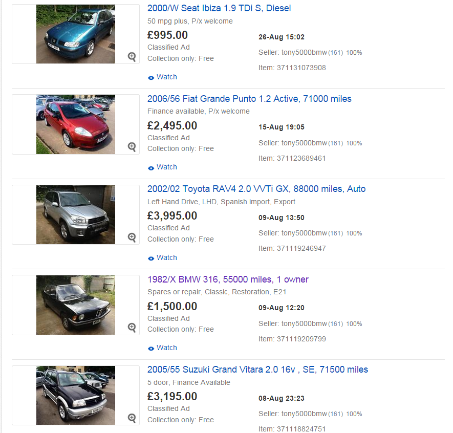 Fine Ebay Motors Classified Gallery - Classic Cars Ideas - boiq.info