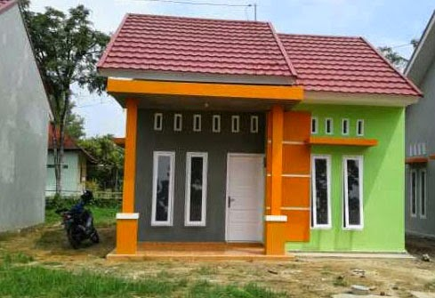 gambar rumah minimalis sederhana 1 2 lantai