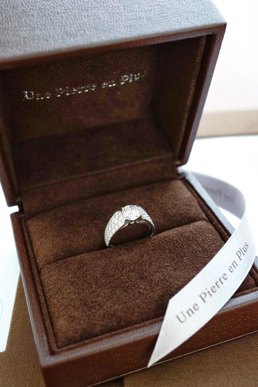 眠っていた大切な婚約指輪でエレガントなリングにリメイク(リ・スタイル)した幸せ。