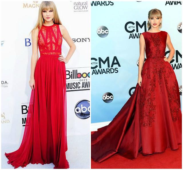 Taylor Swift arrasando nas festas e premiações!