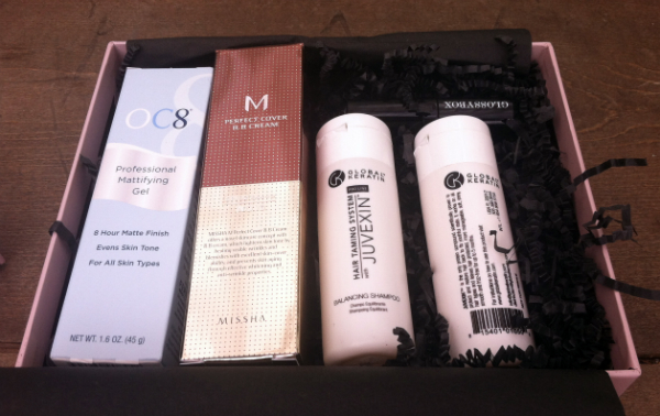 GlossyBox Beauty Subscription Box Review -September 2012 Unboxing - Plus Giveaway!!