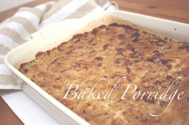 meg-made: Gordon Ramsay's Baked Porridge