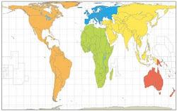 ¿El verdadero tamaño de América?