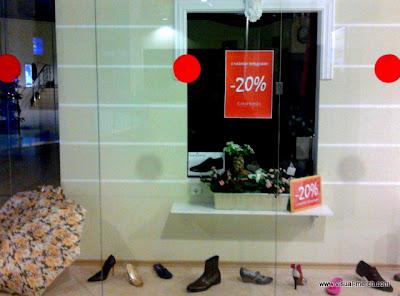 мерчандайзинг магазина обуви