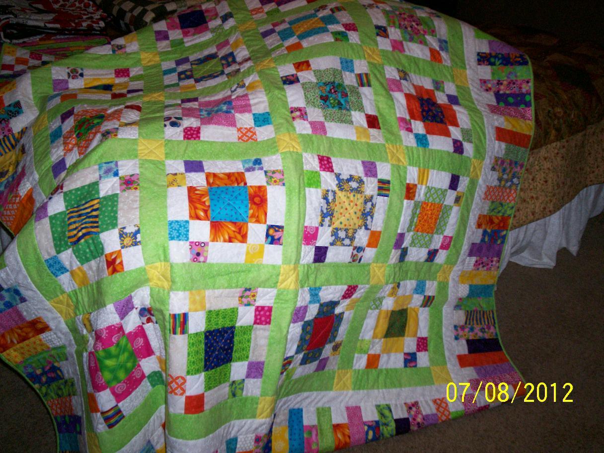 Teresa quilts scrap quilts for Scrap quilt