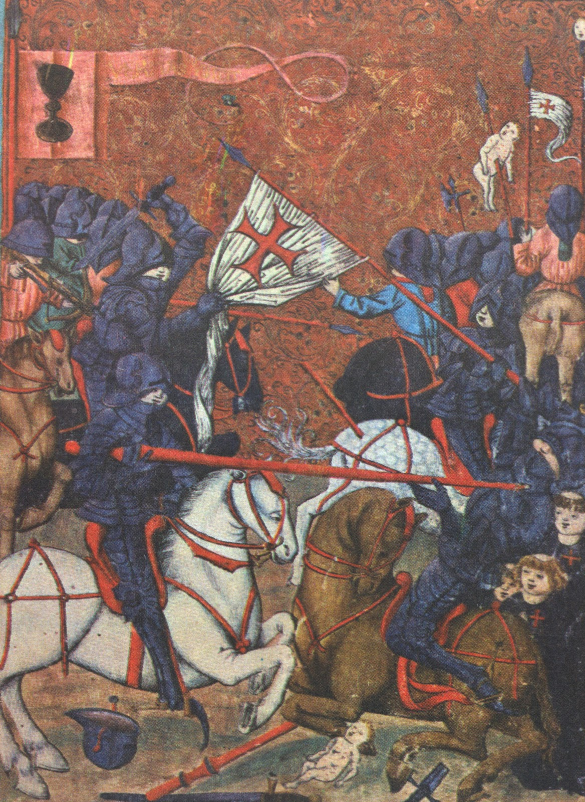 the crusades holy war of the christians The crusades is the name given to a series of military campaigns during the middle ages in which christian armies from europe waged war against the muslim turks of the holy land (now israel.