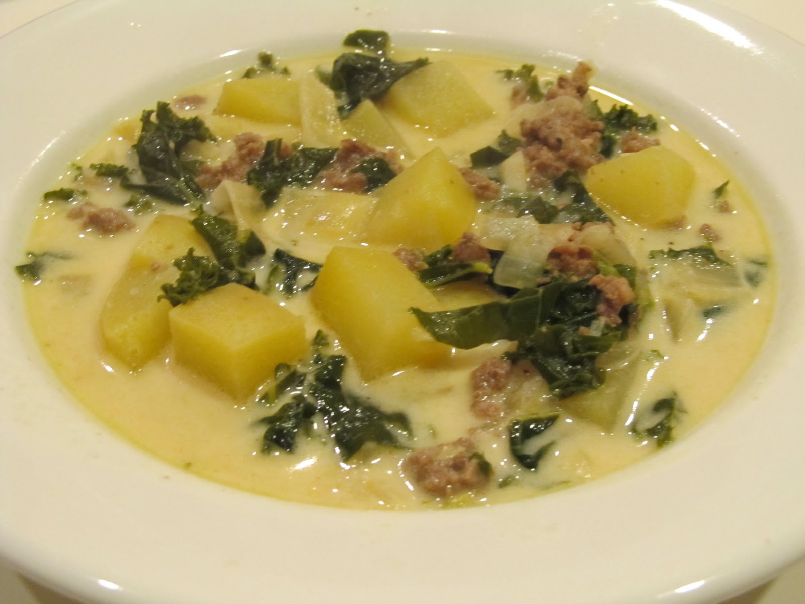Kim's Cooking and Gardening: Tuscan Kale Potato Soup