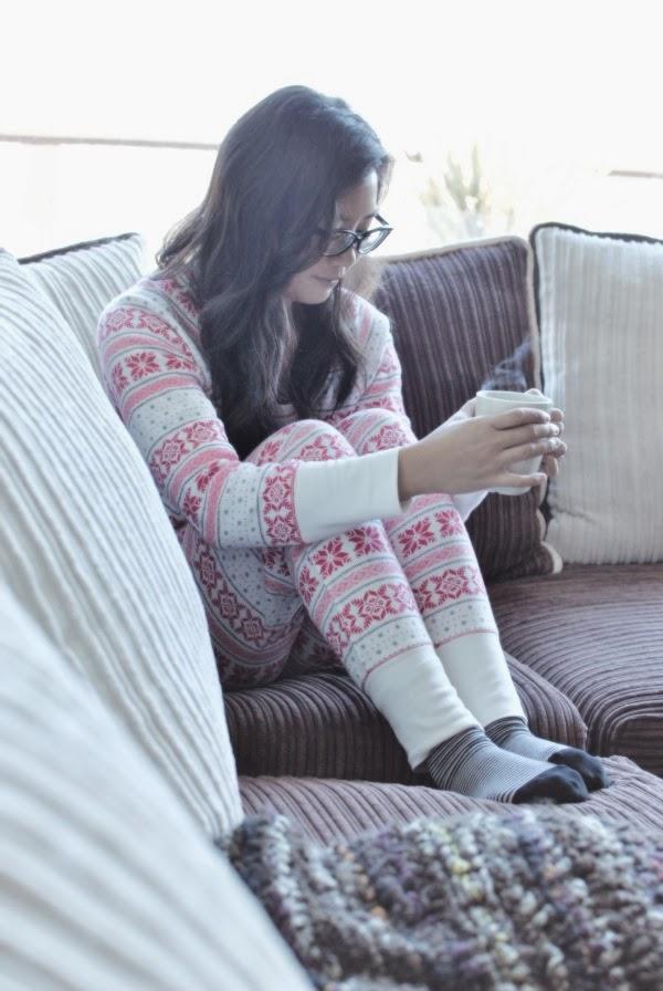 pajama lounging