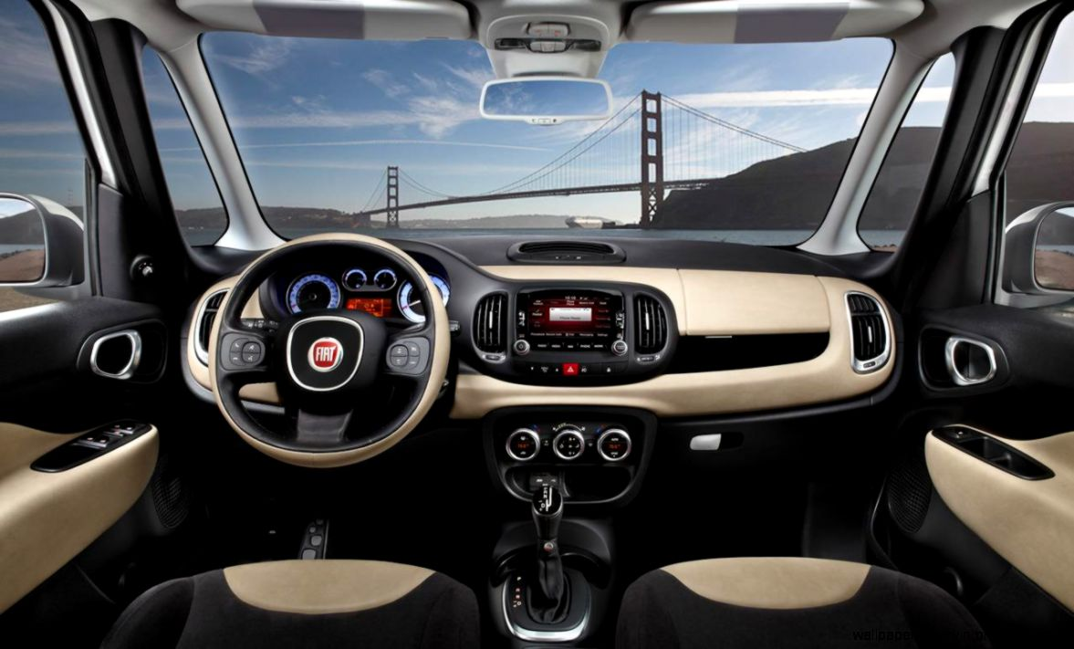 Interior Fiat 500L | Wallpaper Gallery