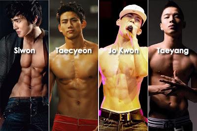 K-Pop, group K-Pop, penyanyi lelaki k-pop, nazim othman peminat k-pop, k-pop connection, six pack, tayang badan, korea selatan, korea selatan, penyanyi Korea Selatan, aktor Korea Selatan, pelakon Korea Selatan, korea selatan, artis malaysia, berita, gambar, berita terkini, hiburan, selebriti
