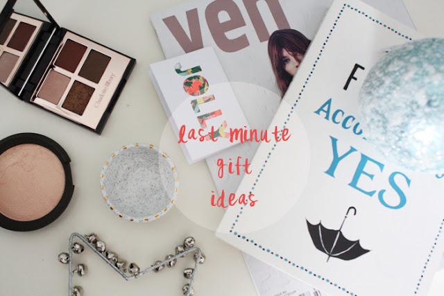 Last Minute Christmas Gift Ideas | 2015