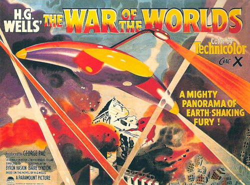 war of the worlds 1953. This 1953 film version