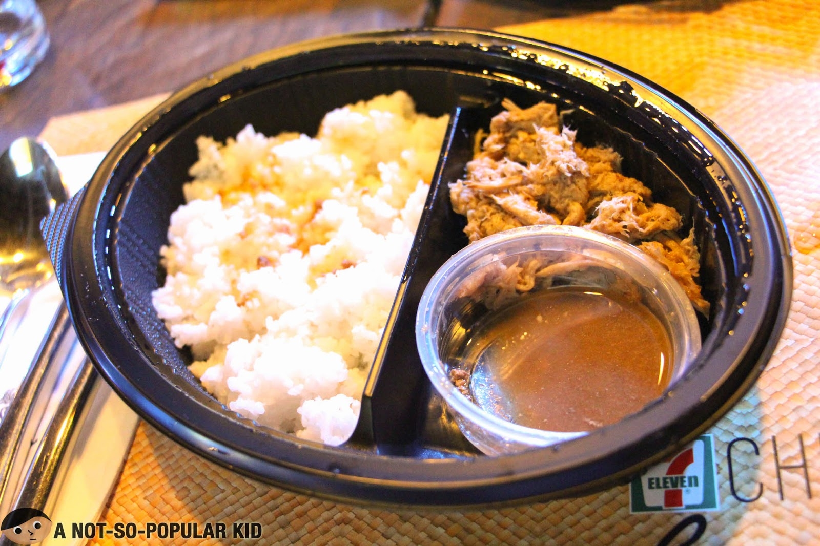 7 Eleven's Pulled Pork with Adobo Dip