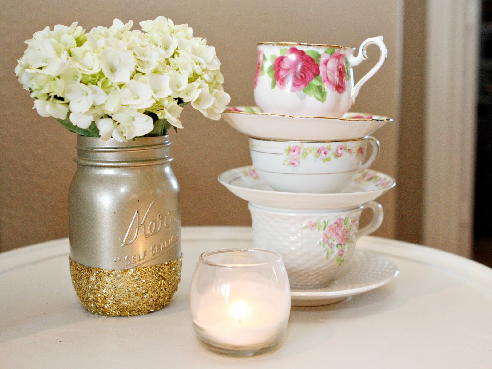 so this vintage tea party themed baby shower was adorable to the 10th