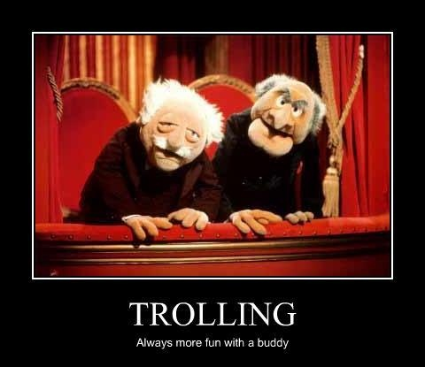 Image result for waldorf and statler animated gif
