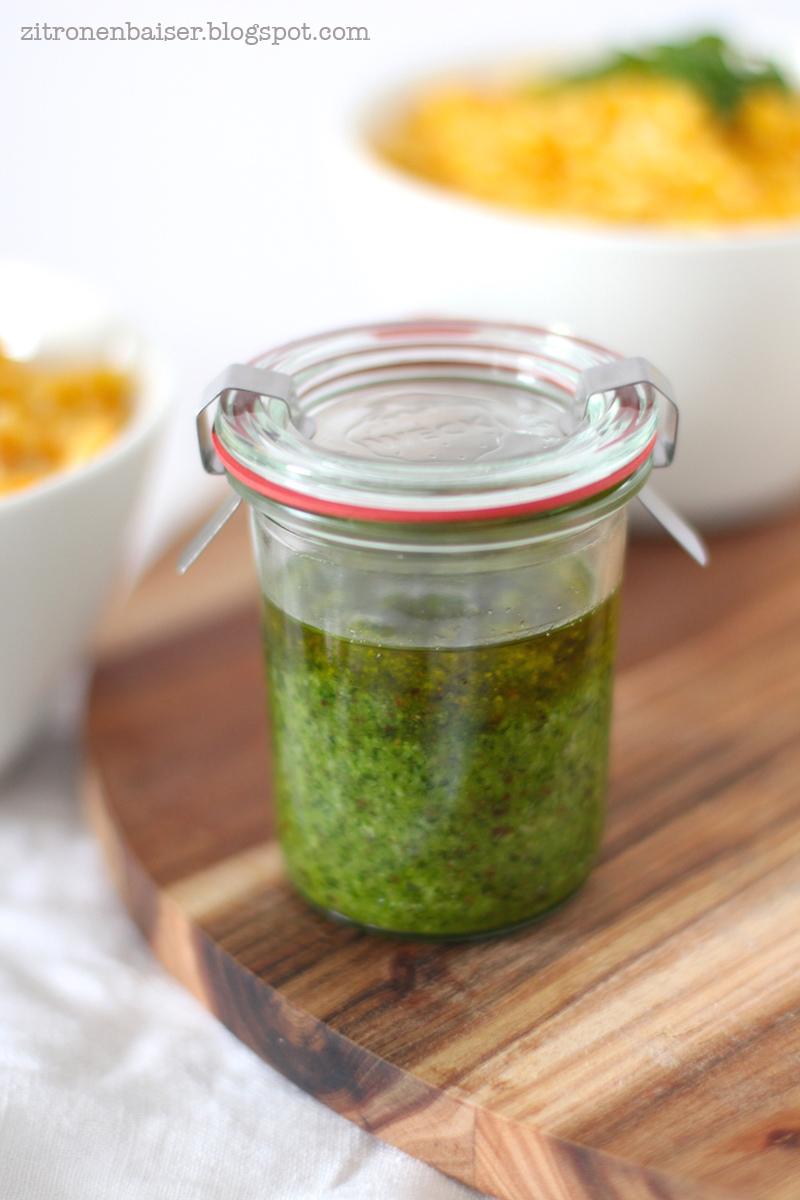 Rezept Bärlauch Pesto Zitronenbaiser Foodblog