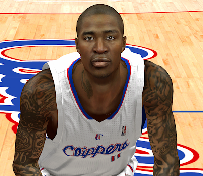 NBA 2K14 Jamal Crawford Cyberface Mod