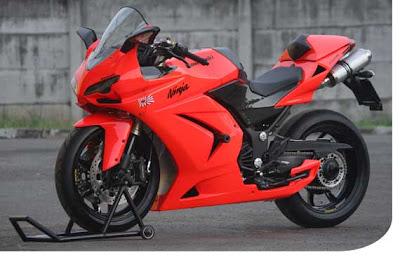 Modifikasi Kawasaki Ninja 250R Terbaru 2011