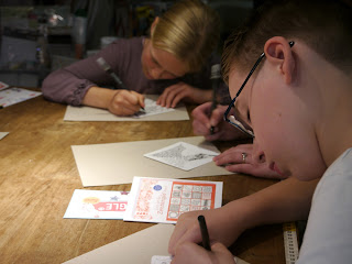 Zentangle für Kids Kurs in Hamburg Beate Winkler
