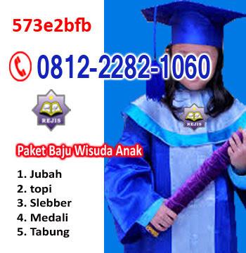 harga jual baju toga wisuda murah untuk anak-anak, TK, RA, PAUD, SD, SMP, SMK, SMA, sarjana di Tangerang selatan