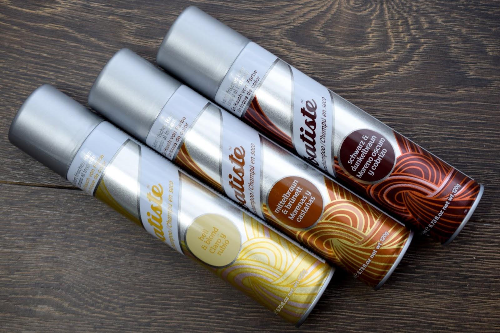Gewinnspiel: Batiste Hint of Colour Dry Shampoo in der Farbe deiner Wahl