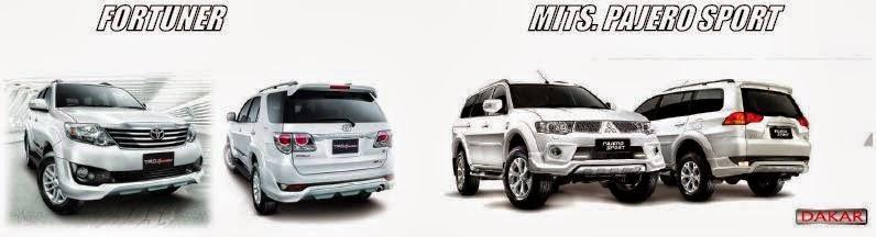 Toyota Fortuner vs Mitsubishi Pajero