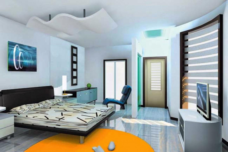 interior kamar tidur luas | interior rumah