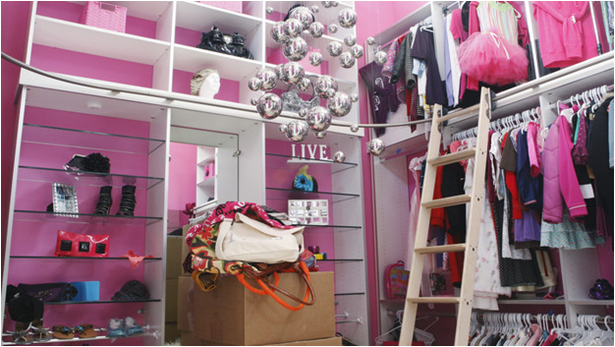 Key interiors by shinay teen girl storage ideas for Extreme makeover bedroom ideas