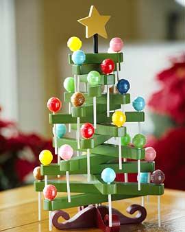 Cyn deco variantes del clasico pino navide o for Ideas para hacer cosas de navidad