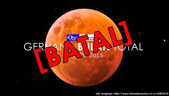 Gerhana Bulan Total 4 April 2015 Batal Terjadi