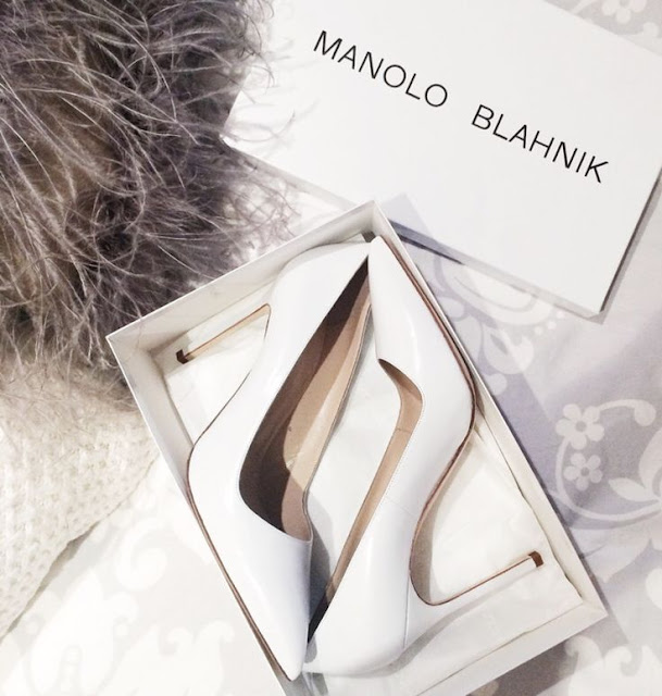 heels: manolo blahnik on brooklyn blonde - cool chic style fashion