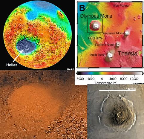 Resultado de imagen de La actividad geológica de Marte