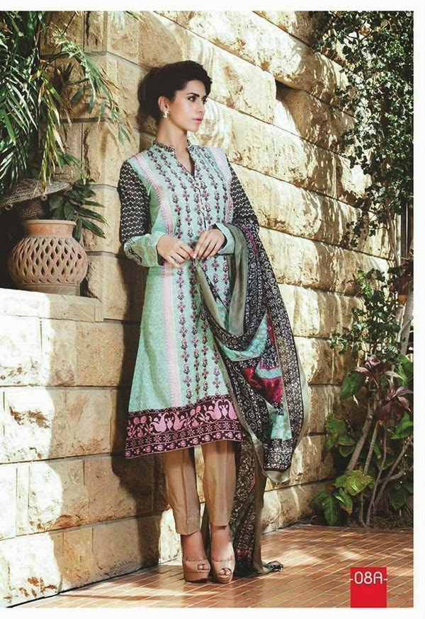 Deeba Designer Embroidered Midsummer Collection 2014