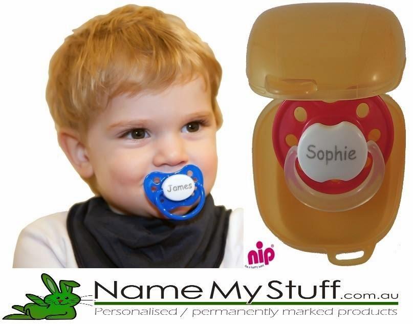 Name My Stuff personalised dummies