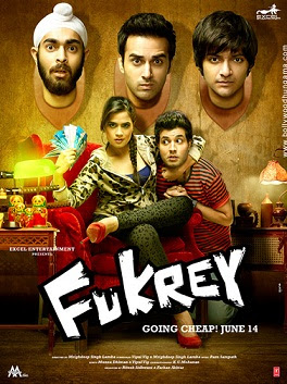 Fukrey (2013) DVDRip XviD 1HDRip [DDR] Full Movie Watch Online Free