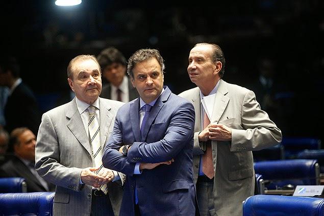 Choro de perdedor Aécio Neves