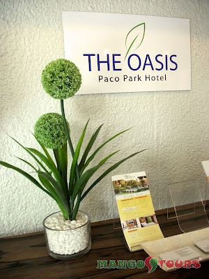 Mango Tours The Oasis Paco Park Hotel Manila Philippines