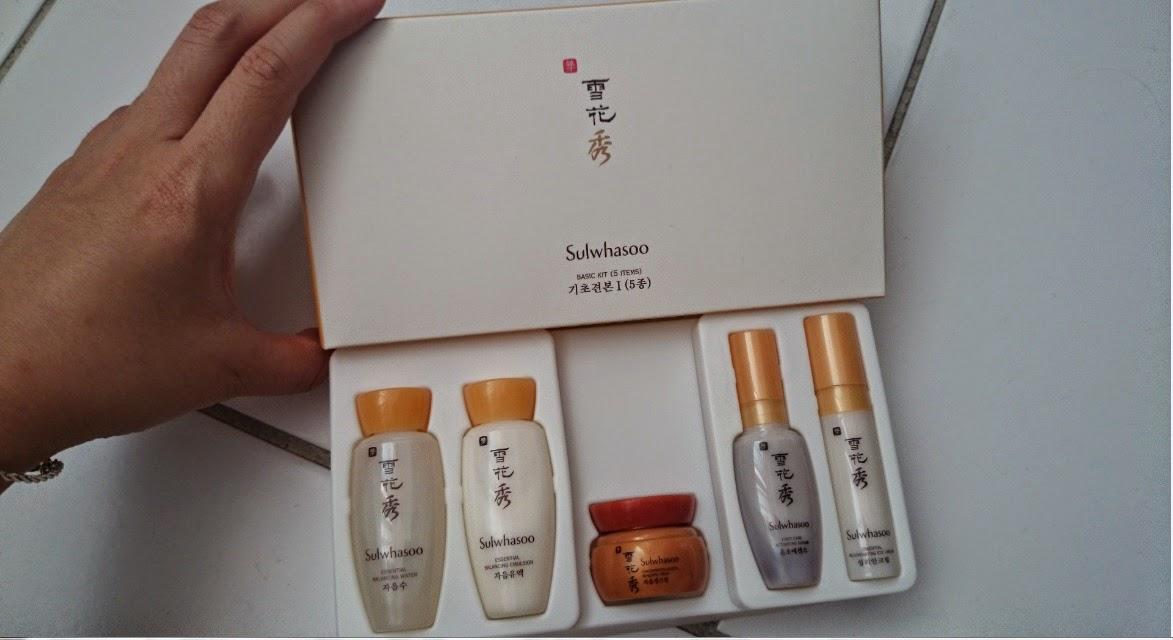 sulwhasoo basic kit 4 items (trial kit) + sulwhasoo sample Serious Skincare 8 Million IU A Cream XR Retinol Cream HUGE 4 fl