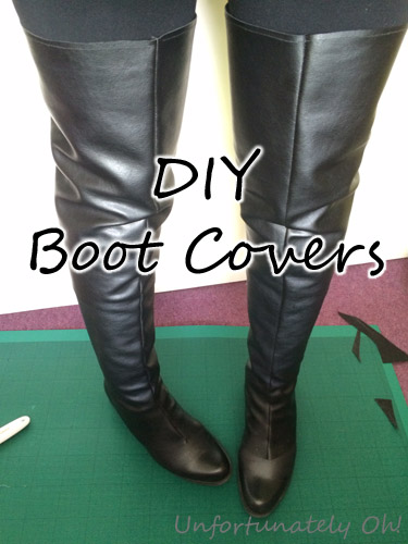 DIY boot covers