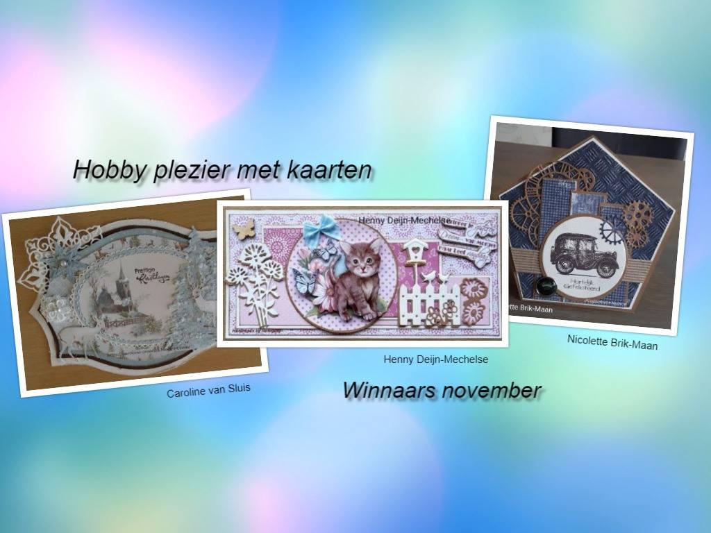 Winaaar FB Hobbyplezier met kaarten