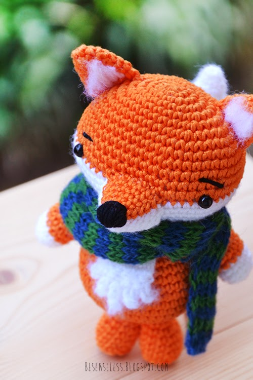 Amigurumi Foxy : Airali design. Where is the Wonderland? Crochet, knit and ...